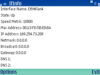 IfInfo for Symbian